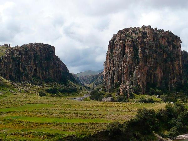 Canyon Suykutambo as new touristic destiny in Cusco