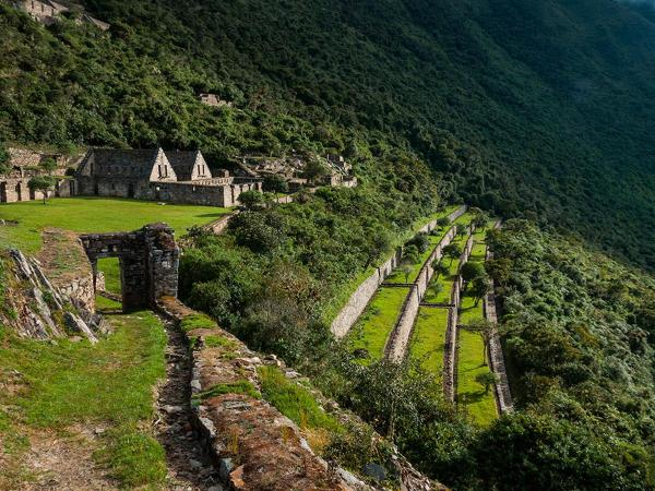 Choquequirao: White llama terraces dazzle in Peru's