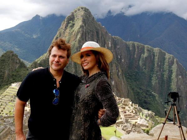 Gloria Trevi visited Cusco & Machu Picchu for her reality show