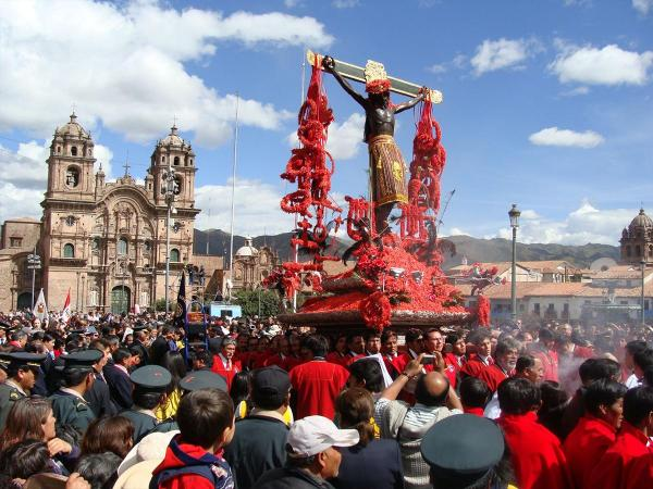 Holy week starts next monday March 30th in Cusco