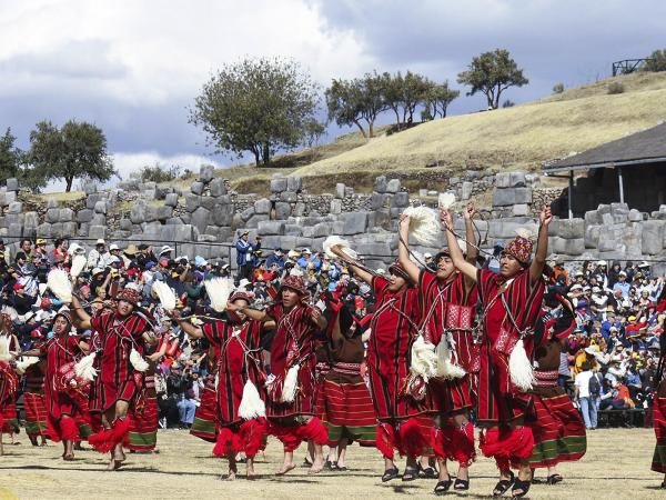 Inti Raymi through time until 2014