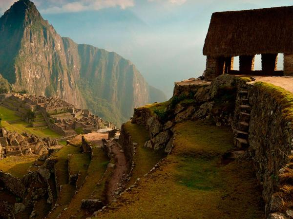Machu Picchu in four minutes on video