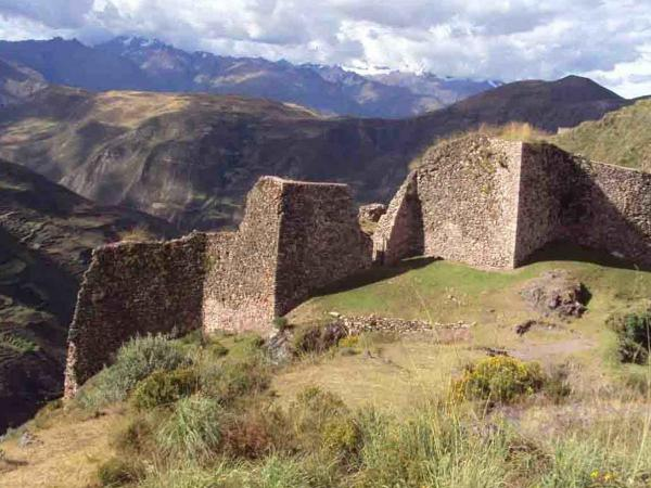 New archaeological complex of Wata in Cusco city