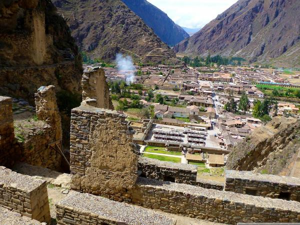 Ollantaytambo remains of the ancestral culture