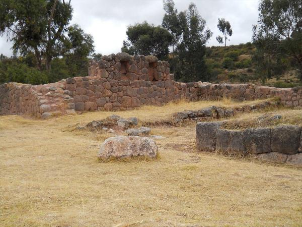 Rumiwasi: The end of new Inca trail inside Cusco City
