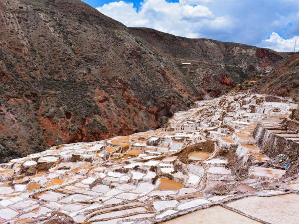 Salt mines in Cusco for to make tour and travel