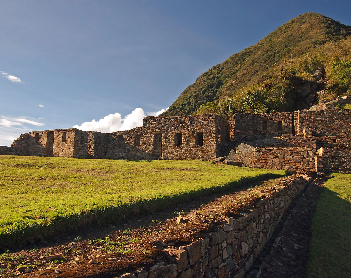 Trekking to Choquequirao